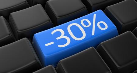 30: -30% Key concept
