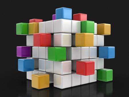 busines: Busines teamwork concept. Stock Photo