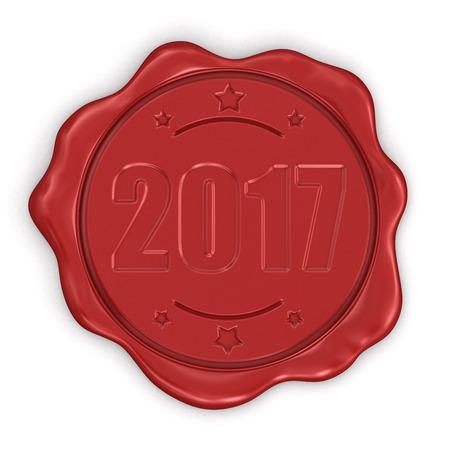 wax stamp: Wax Stamp 2017.
