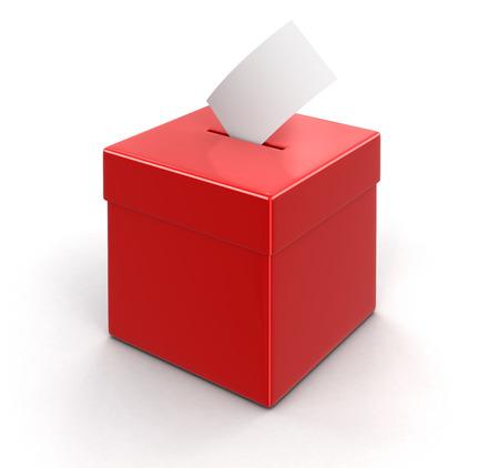 election choices: Ballot Box.