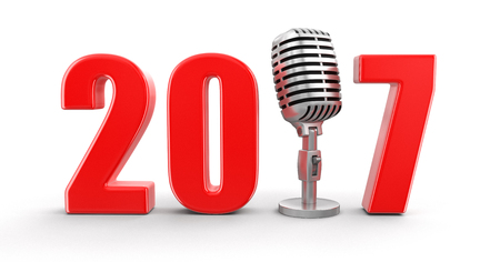 Microphone with 2017.