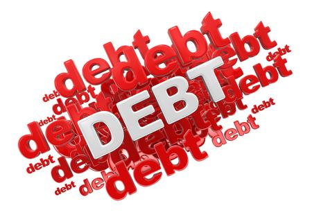 word: Word debt.