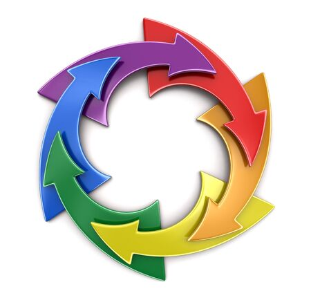 transgender gay: Color Circular Graph. Image with clipping path Stock Photo