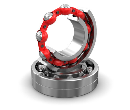 Bearings. Image with clipping path Stockfoto