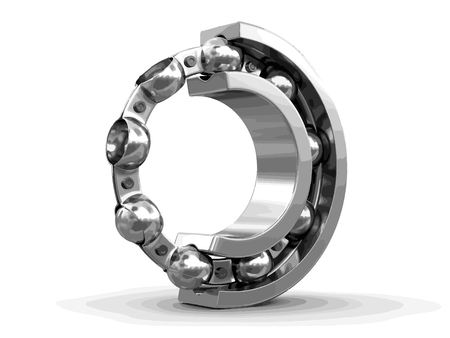 Bearing. Image with clipping path