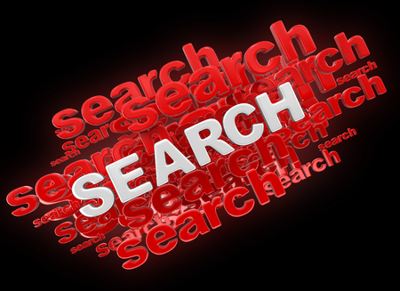 Word search. Image with clipping path