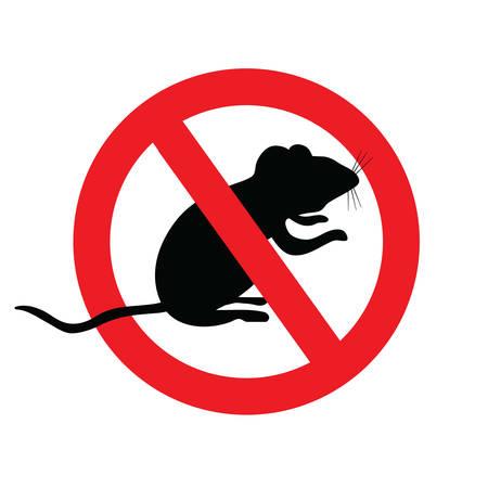 A keine Mäuse, kein Symbol mit Maus. Vektorgrafik