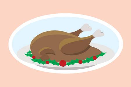 winter grilling: Thanksgiving turkey