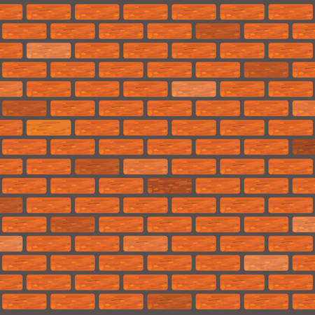 orange brick wall texture 矢量图像