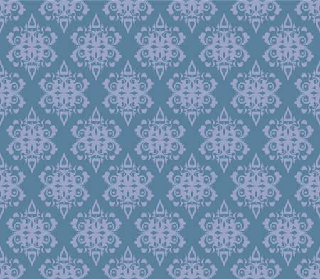 details: Abstract blue wallpaper, seamless pattern