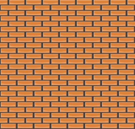 Orange brick wall texture