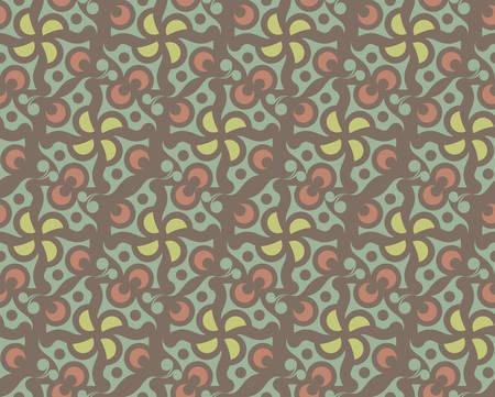抽象的な茶色の壁紙パターン。