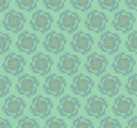 抽象的な緑の壁紙パターン。