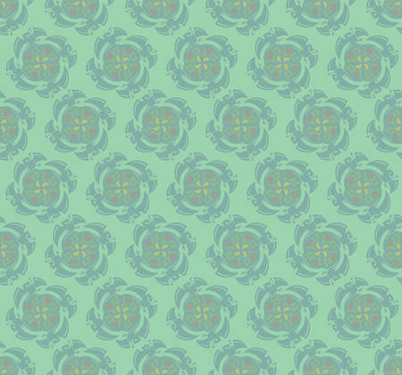 Abstract green wallpaper pattern.