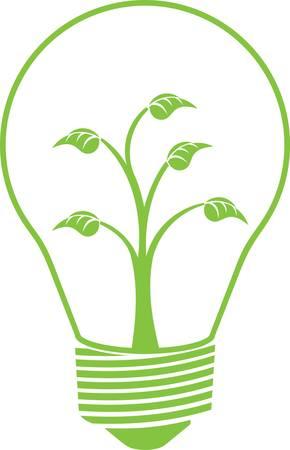グリーンエコ電球、エコロジーコンセプト