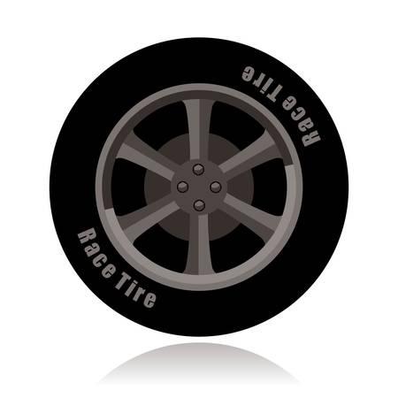 rim: sports car wheel, vintage tire