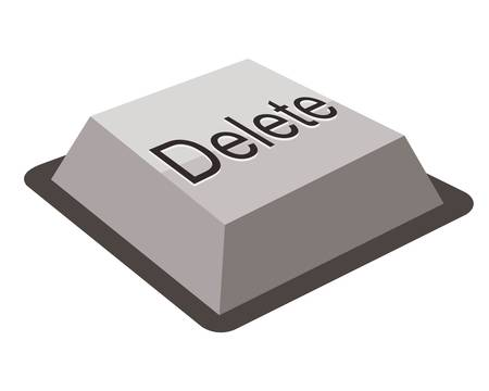 Delete keyboard button