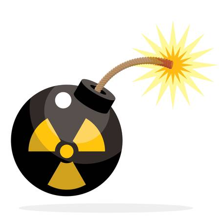 nuclear bomb: Nuclear bomb activated.