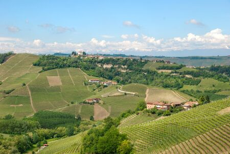 View of the Langhe hills