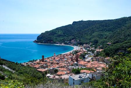 View of Noli, Liguria - Italy