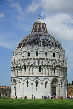 Baptistery in Square of Miracles, Pisa - Tuscany - Italy