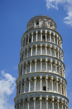 The tower of Pisa in the Miracle Place