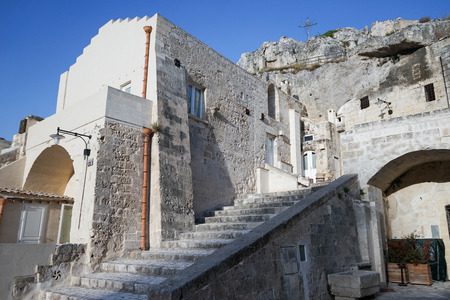 characteristic: The old side of the town of Matera, Basilicata - Italy
