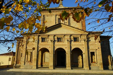 spiritual architecture: Church in Diano dAlba