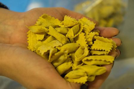 Agnolotti: pasta of the Langhe, Piedmont - Italy