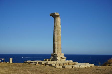 Archaeological area of Capo Colonna, Crotone - Calabria, Italy