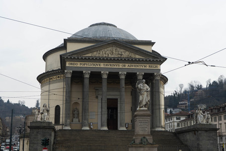 The Church of the Great Mother of God, Turin - Italy March 2018 Editorial