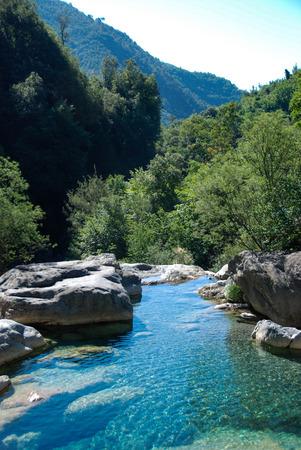 Creek near Rocchetta Nervina, Liguria - Italy