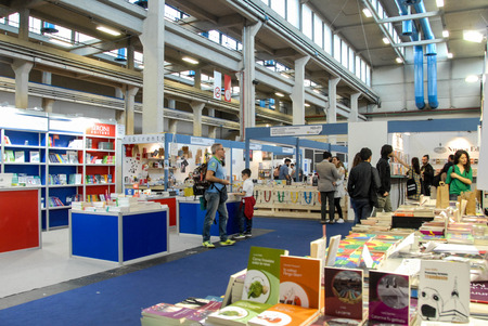 In Turin - Lingotto, International Book Fair, May 2018