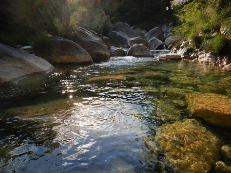Canyon Rio Barbaira - Rocchetta Nervina, Liguria. Italy