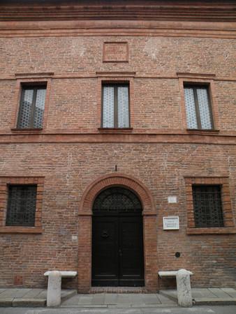 The home of Ludovico Ariosto in Ferrara
