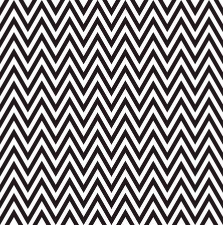 textures: Zick-Zack-Muster Hintergrund mit schwarz und weiß Illustration