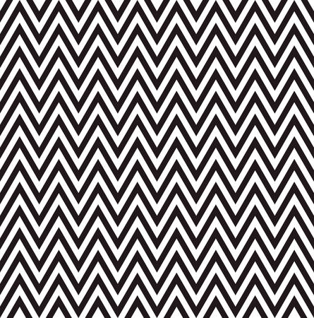 three dimensions: zigzag pattern background  with black and white