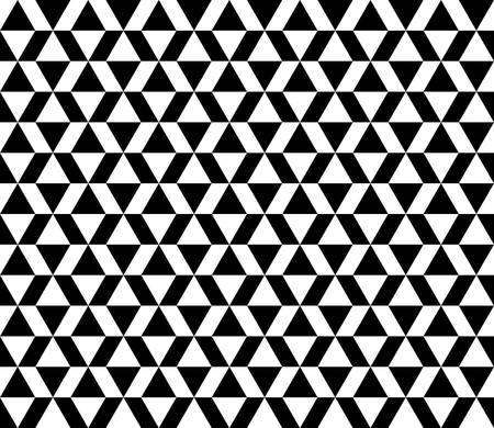 three dimensions: geometric pattern background with chevron and triangle Illustration