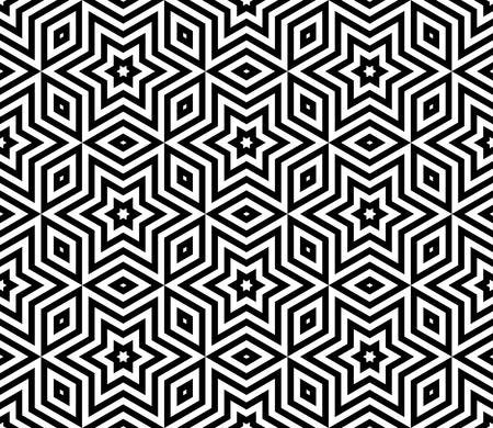 parallelogram: abstract triangle background with arabic pattern.vector Illustration