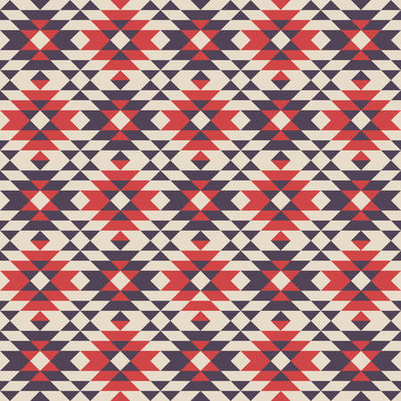 three dimensions: abstract ethnic pattern background with navajo pattern