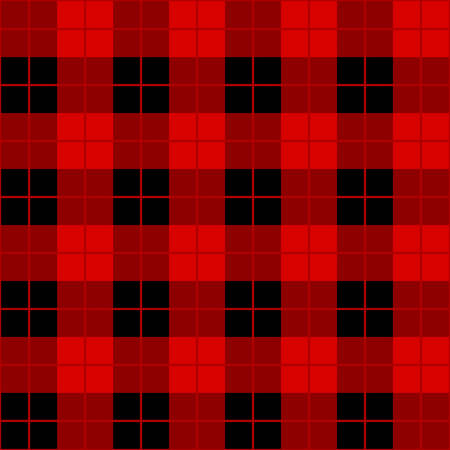 scott: abstract seamless scott pattern black and red vector Illustration