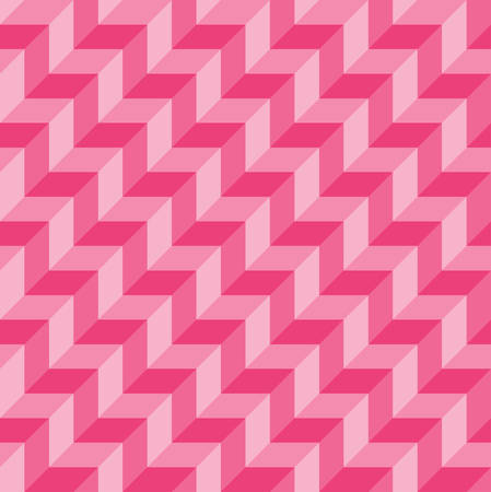 three dimensions: zigzag background seamless with pink.seamless patterns