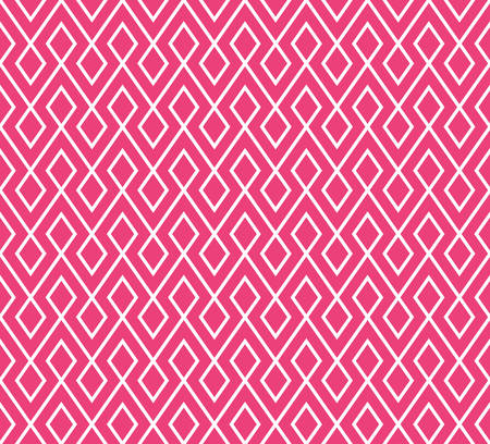 heart tone: abstract zigzag and rhombus pattern background with pink tone.greeting card.vector Illustration
