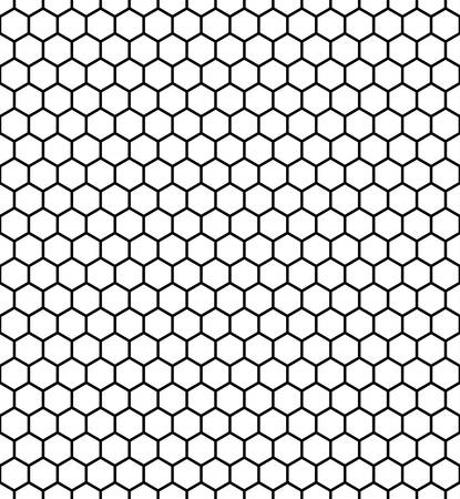 trapezium: hexagon vector pattern background with black and white.football pattern