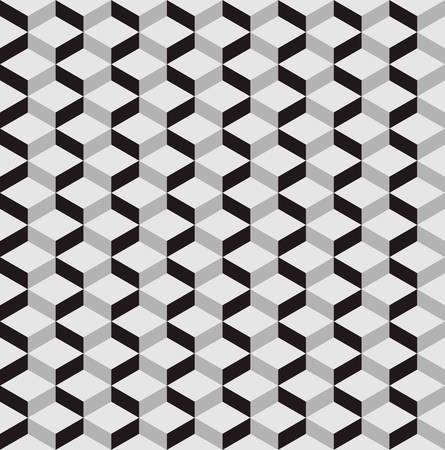 seamless fond avec optique illusion.3D motif
