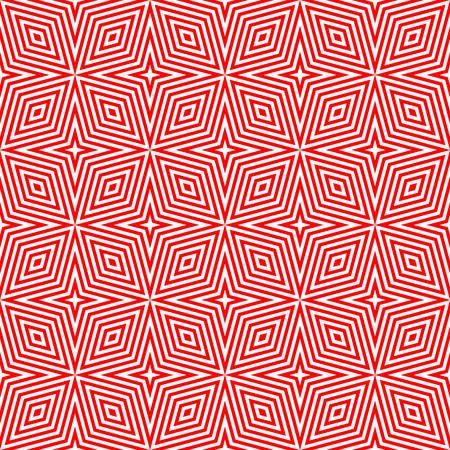 arte optico: Patrón geométrico transparente en el arte óptico de color design.red Vectores