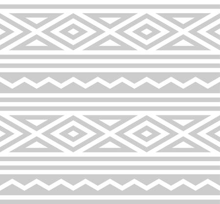 three dimensions: abstract ethnic pattern background with light grey.native pattern