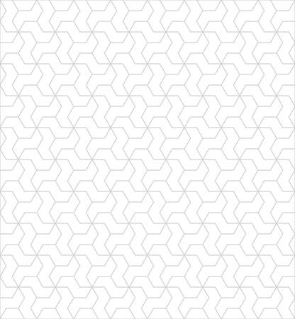 interlaced: Abstract seamless geometric pattern with interlaced grids.minimal textures Illustration