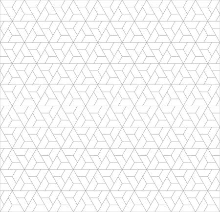 three dimensions: Abstract seamless geometric pattern with minimalist.triangle pattern background
