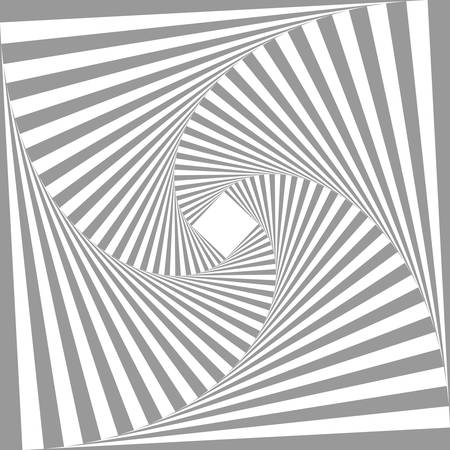 abstract monochrome square geometric pattern background.optical art.grey color